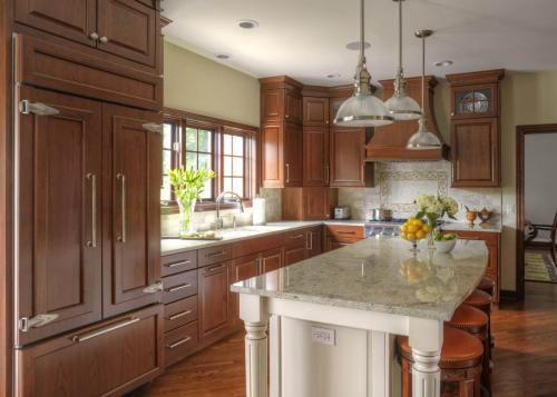 Warm And Inviting Family Kitchen