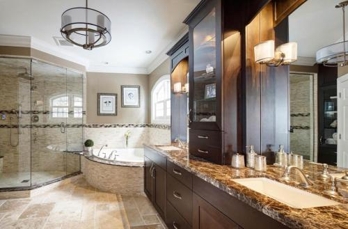 Transitional Master Bath