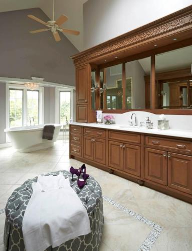 Tailored Elegance Master Bath