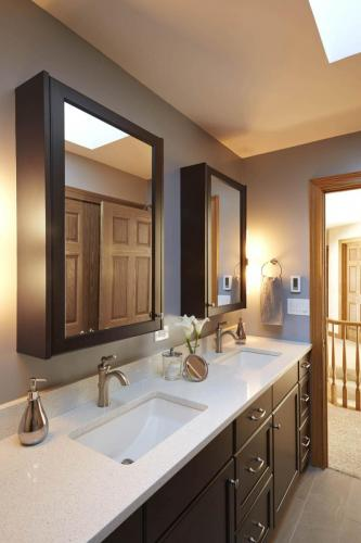 Clean And Simple Hall Bath
