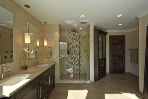 Contemporary Spa Bath