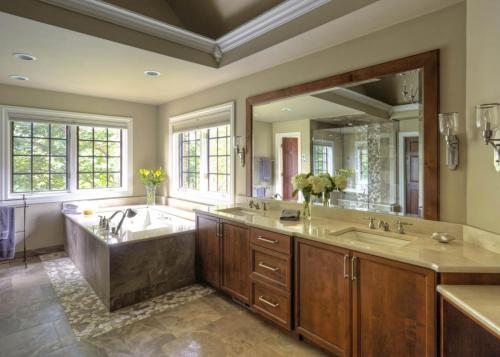Thoroughly Restful Master Bath