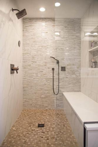 Beautifully Balanced Master Bath