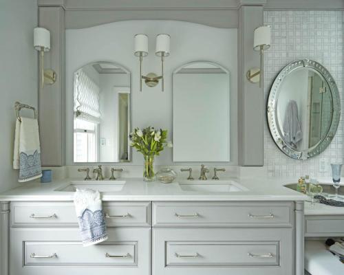 Classic Glamour Master Bath