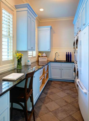 Light And Airy Laundry Room