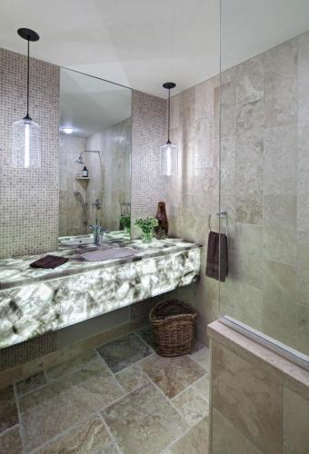 Luminous Powder Room