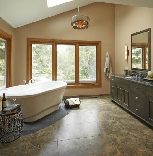 Naturally Restful Master Bath